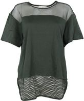 adidas by Stella McCartney Green Ess Mesh Tee