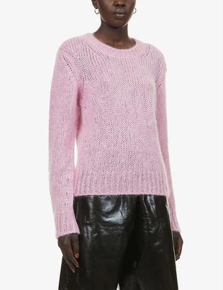 Moncler Trico mohair-blend jumper