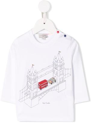 Paul Smith graphic print long-sleeve top