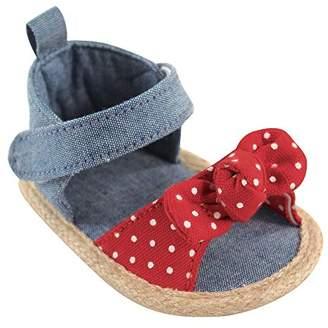 Luvable Friends Girls Sandal Crib Shoe
