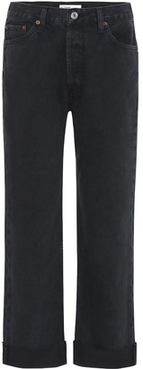 RE/DONE '90s Loose mid-rise straight jeans