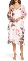 Komarov Women's Sheath Dress & Shawl