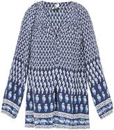 Joie Sonoma Paisley Feather Silk Blouse