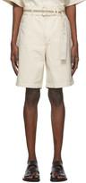 Off-White Jil Sanderand Denim Belted Shorts