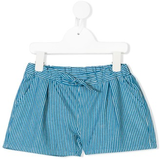 Knot Striped Shorts