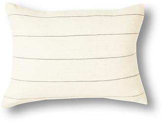 Bole Road Textiles Selam 12x16 Pillow - Gray