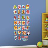 Fathead Sesame Street Elmo's Illustrated Alphabet Wall Decals by