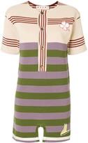 Marni colourblock stripe mini T-shirt dress