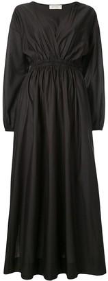Matteau Gathered Plunge Dress