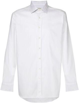 Etro Pointed Collar Cotton Shirt