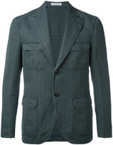 Boglioli peaked lapel blazer - men - Cotton/Linen/Flax/Cupro - 48