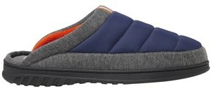 Dearfoams Men's Quilted Nylon Scuff Slippers