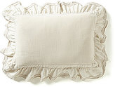 Villa by Noble Excellence Mara Ruffled Lace & Matelasse Breakfast Pillow