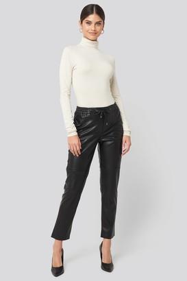 MANGO Apple Trousers Black