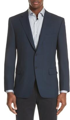 Canali Classic Fit Wool Blazer