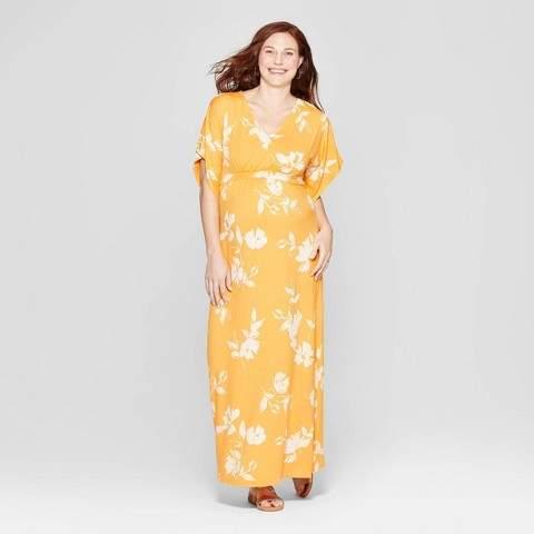 f6d5f4551c96b Maternity Dress Kimono - ShopStyle