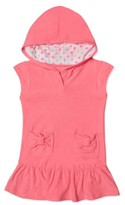 Hula Star Toddler Girl's Cloud Hooded Cover-Up Dress