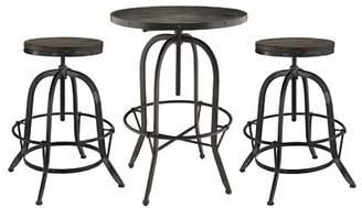 Millwood Pines Seline 3 Piece Pub Table Set Millwood Pines Color: Black