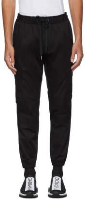 Dolce & Gabbana Black Stripe Cargo Pants