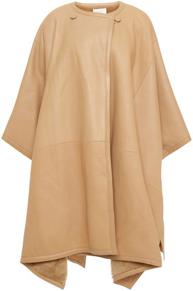 The Row Shearling Cape