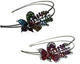 B.ella 2-Pack 2 Crystal Flower Headbands U86121-0070-2mf