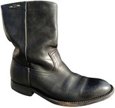 Mauro Grifoni Black Leather Ankle boots