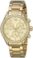Timex Women's TW2P66900AB City Collection Miami Analog Display Analog Quartz Gold Watch