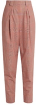 Rachel Comey James high-rise tapered-leg wool-plaid trousers