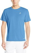 Head Men's Heather Hypertek Crew Neck Top