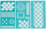 Martha Stewart Large Stencils 3/pkg-arabesque 8.75x16.75 11 Designs, Pk 1