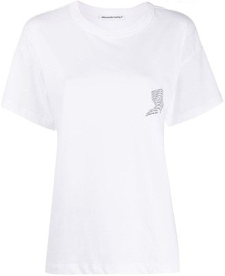 Alexander Wang loose fit logo T-shirt