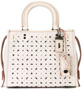 Coach 'Rivets Rouge' tote - women - Leather/metal - One Size