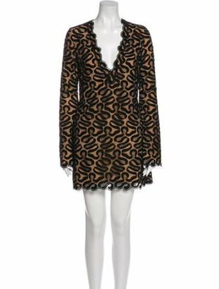 Stella McCartney 2015 Mini Dress Black
