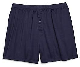 Hanro Men's Cotton Sporty Knit Boxers