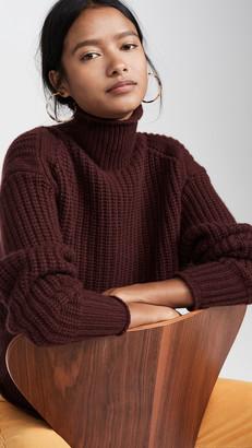 Autumn Cashmere Chunky Shaker Cashmere Sweater