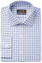 Tasso Elba Men's Classic-Fit Non-Iron Gingham Dress Shirt, Only at Macy's