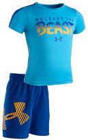 Under Armour Baby Boys Release the Beast Tee and Shorts Set