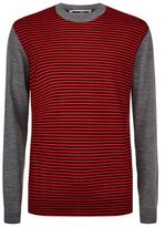 Mcq Alexander Mcqueen Striped Knit Jumper