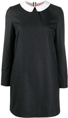 Thom Browne Peter Pan Collar Shift Dress