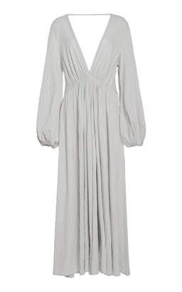 Kalita Aphrodite Cotton-Jersey Maxi Dress