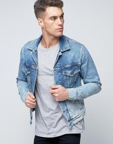 Pepe Jeans Pepe Denim Jacket Bleach Archive Wash