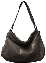 Sondra Roberts Textured Leather Hobo Bag