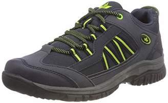Lico Unisex Adults' River Low Rise Hiking Shoes, Blue (Marine/Lemon Marine/Lemon)