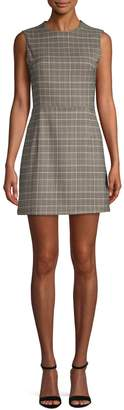 French Connection Amati Check Mini Dress