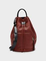 DKNY Convertible Sling Bucket Bag