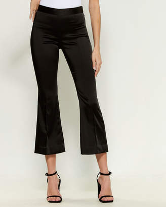 Rosetta Getty Cropped Flared Pants