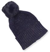 Adrienne Landau Knit Pom Hat