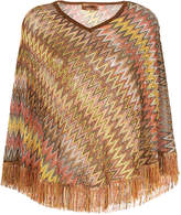 M Missoni patterned poncho