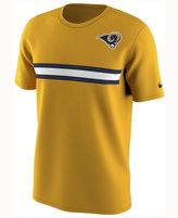 Nike Men's Los Angeles Rams Color Rush Stripe T-Shirt