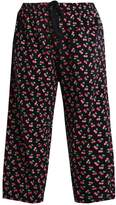 Evans CHERRY Pyjama bottoms black